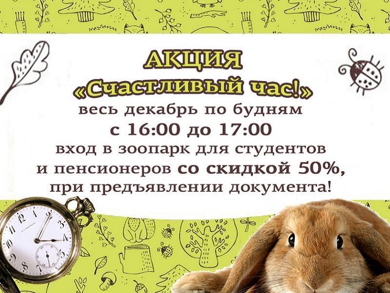 Акция счастливый час Лесное посольство Уфа